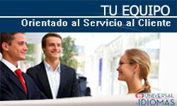 tu equipo orientado al servicio al cliente